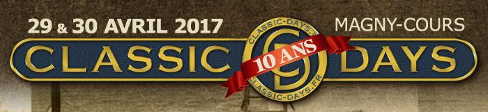 Classic Days 2017 - l'affiche des 10 ans