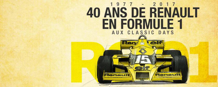 les 40 ans de Renault en F1
