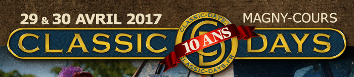 Classic Days 2017 - 29 et 30 avril - Magny-Cours