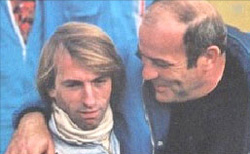 G. Ligier et son poulain J. Laffite - Source ; J.-P Gosselin (1976) Guy Ligier