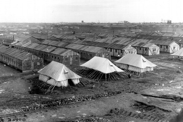 US military camp