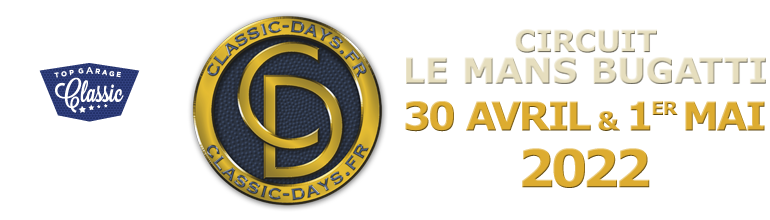 Classic Days - 30 avril & 1er mai - Circuit Magny-Cours